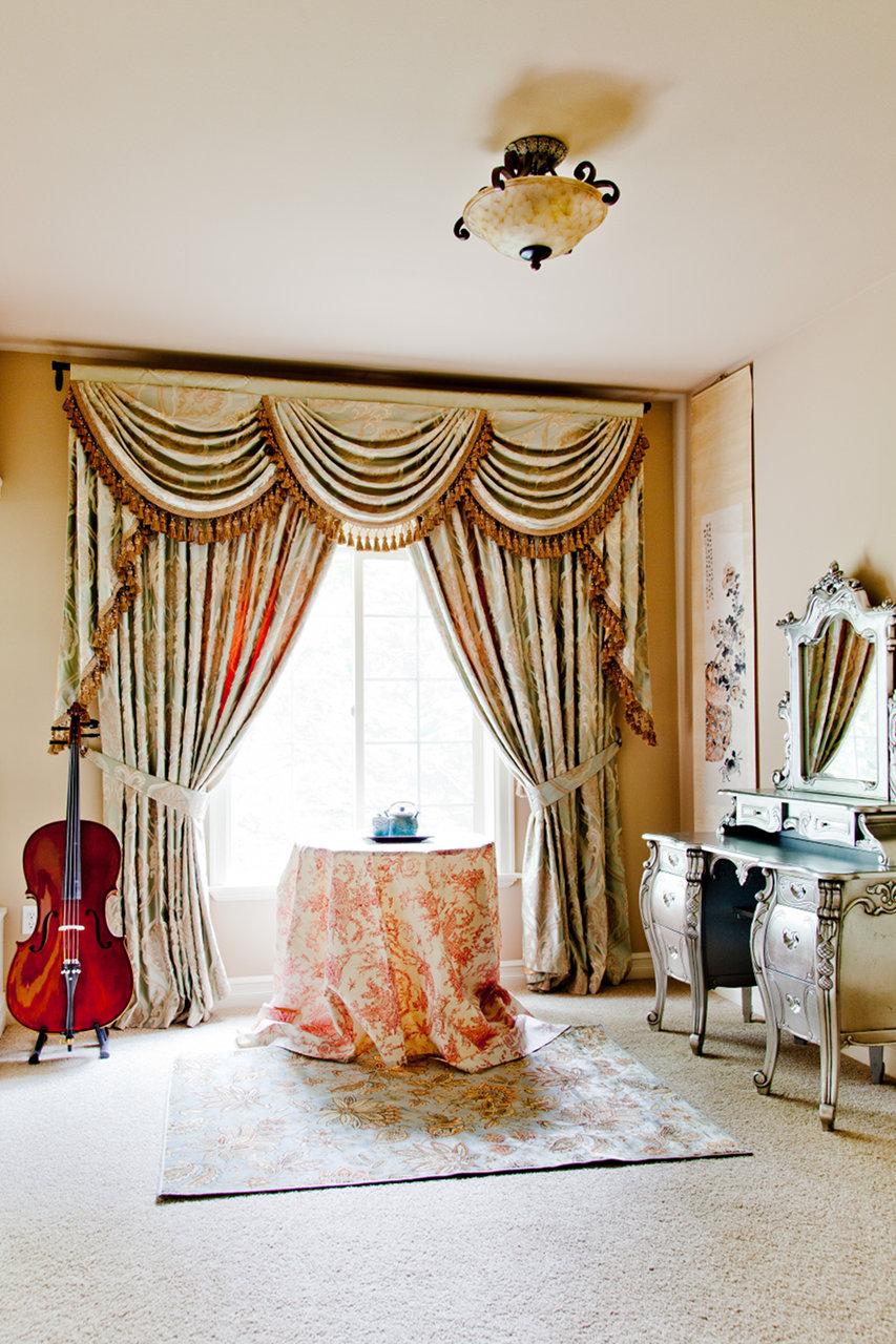emerald bouquet swag valances curtain drapes. Black Bedroom Furniture Sets. Home Design Ideas