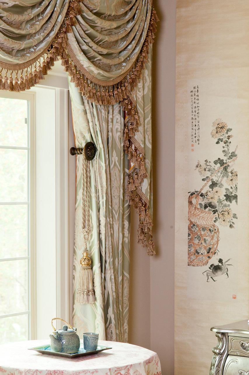 Emerald Bouquet Swag Valances Curtain Drapes