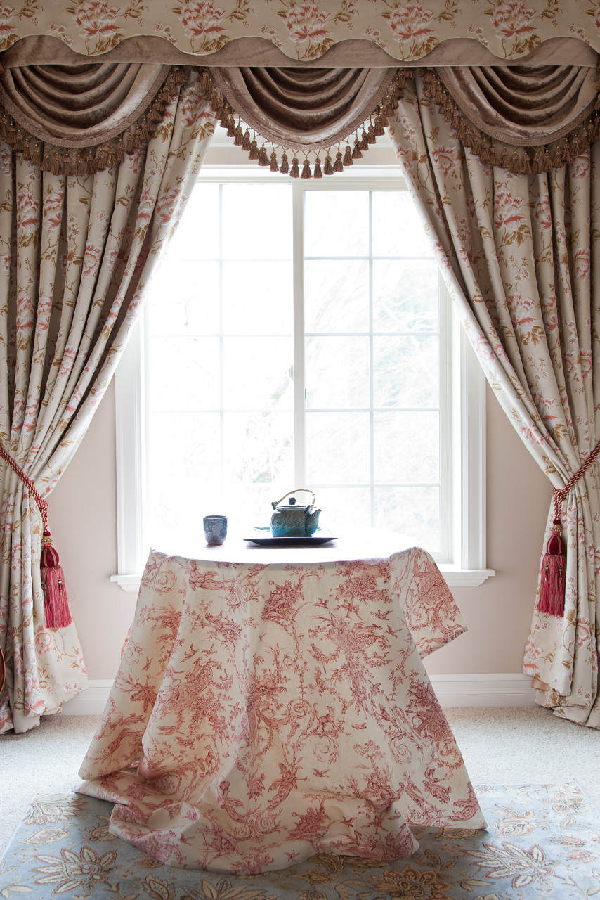 debutante swag valances curtain draperies. Black Bedroom Furniture Sets. Home Design Ideas