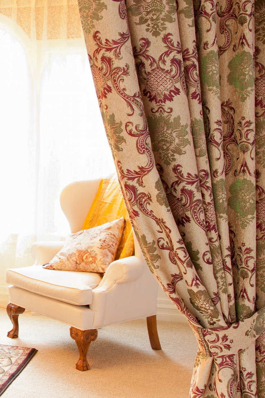 Swags And Tails Valance Curtain Drapes Rosy Queen