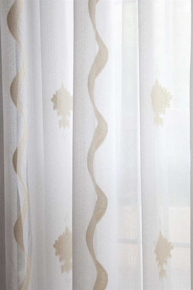 Picture of Aegean Breeze Sheer Curtains - Gold