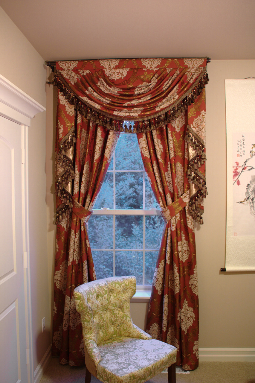Turandot Swag Valances Curtain Drapes