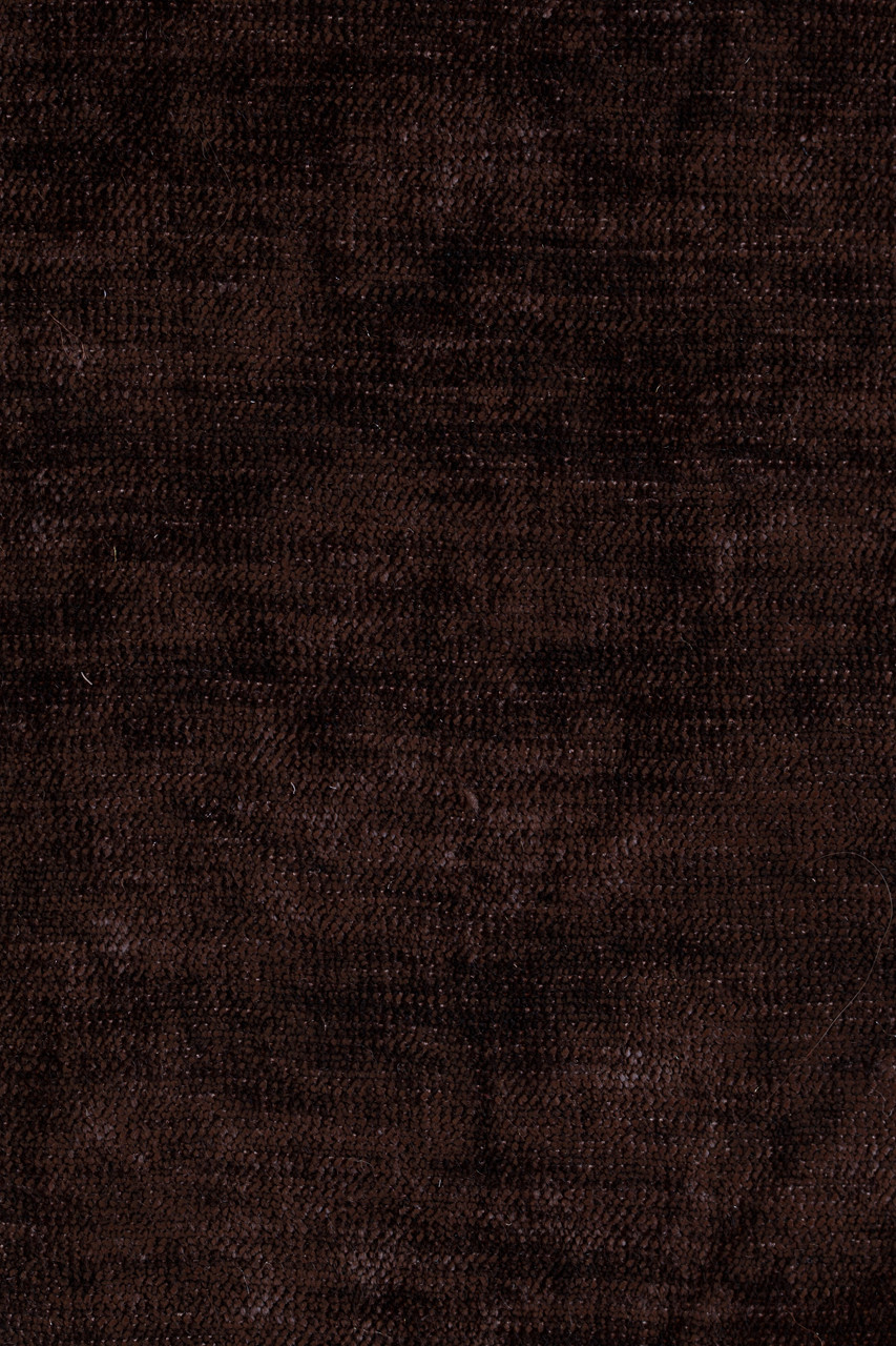 Brown And Black Living Room Decorating Ideas: Dark Brown Chenille Flip Pole Swag Valance Draperies