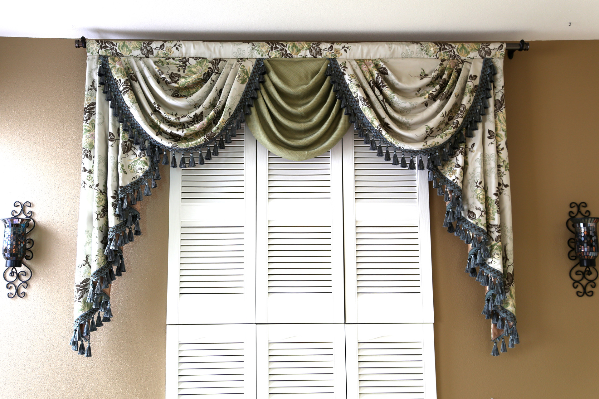 Picture Of Custom Order   Appalachian Spring   Classic Overlapping Swag Valance  Curtains
