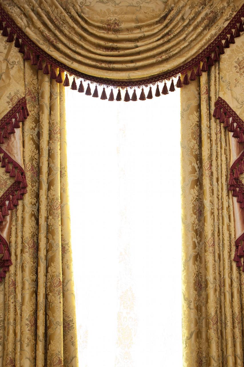 Custom Order 133 Versailles Rose Swag Valances Curtain