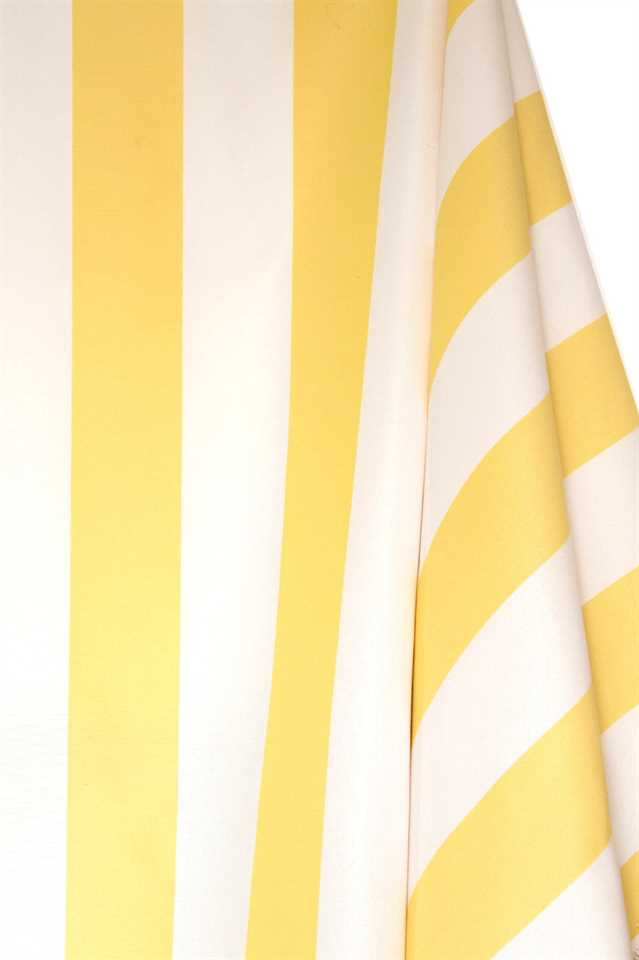 Picture of Stripe Cotton Blend - Yellow and White