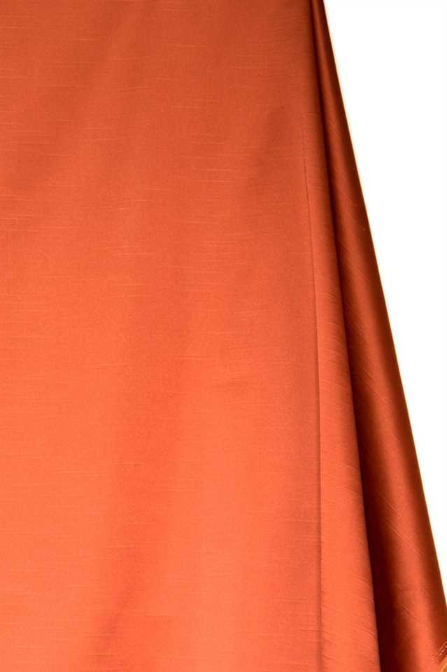 Picture of Faux Silk Taffeta - Orange