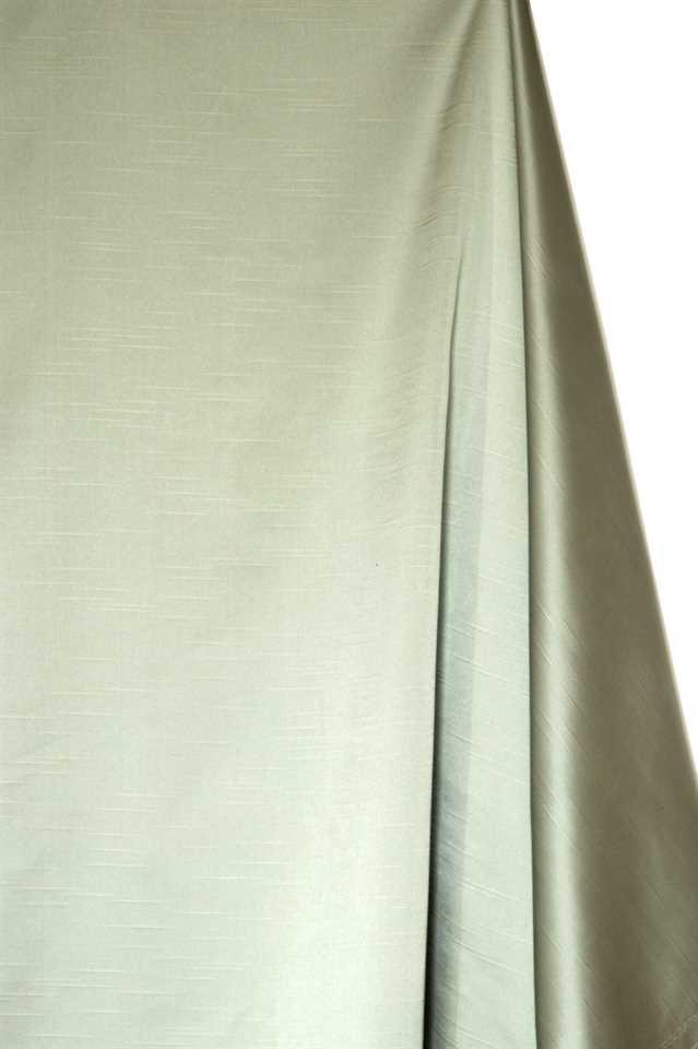 Picture of Faux Silk Taffeta - Sage Green