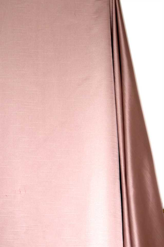 Picture of Faux Silk Taffeta - Pink