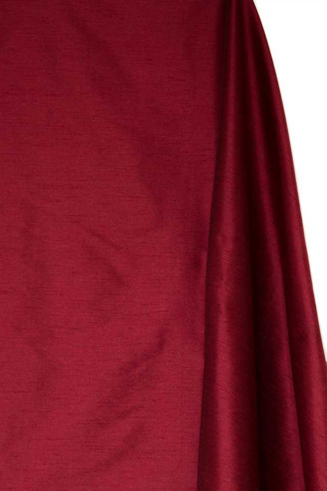 Picture of Faux Silk Dupioni - Burgundy