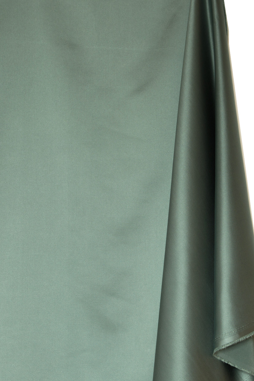 Solid Faux Silk Sage Green