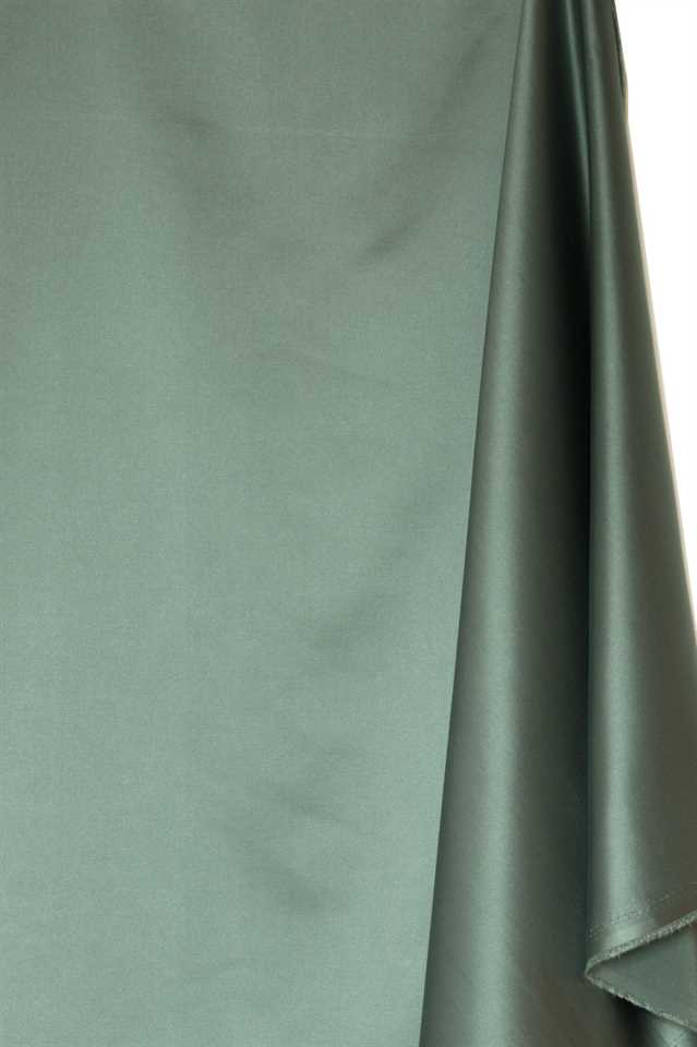 Picture of Solid Faux Silk - Sage Green