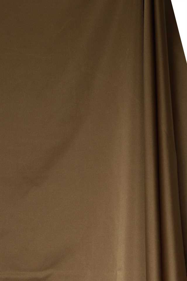Picture of Solid Faux Silk - Gold Brown