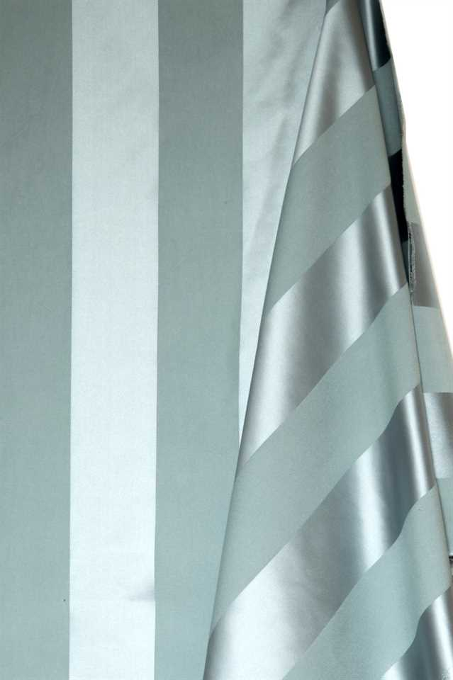 Picture of Stripe Faux Silk - Light Blue