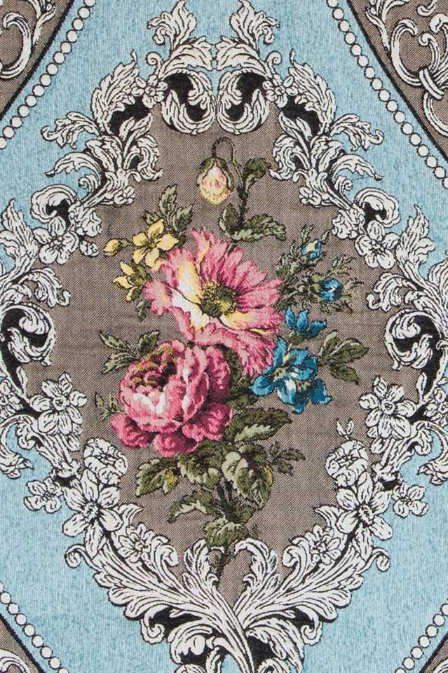 Picture of Baroque Roses - Light Blue
