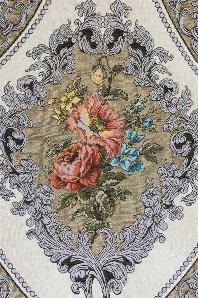 Picture of Baroque Roses - Off White