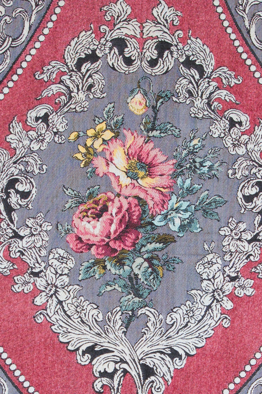 Pink Rose Patterns On Pink Background
