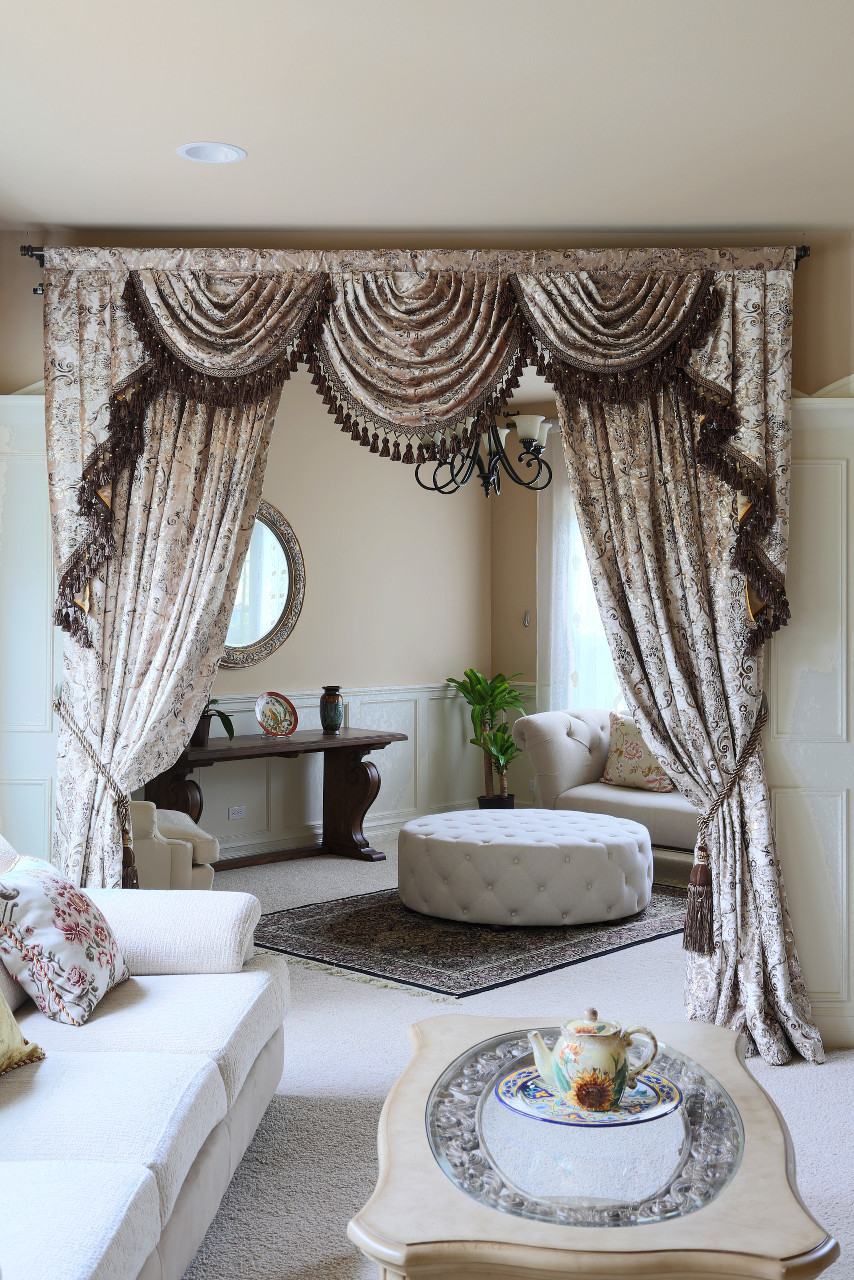 Gilded Vine Swag Valances Curtain Draperies