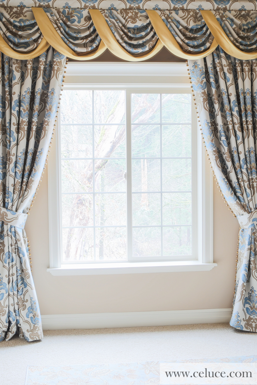 masquerade ball swag valance curtains. Black Bedroom Furniture Sets. Home Design Ideas