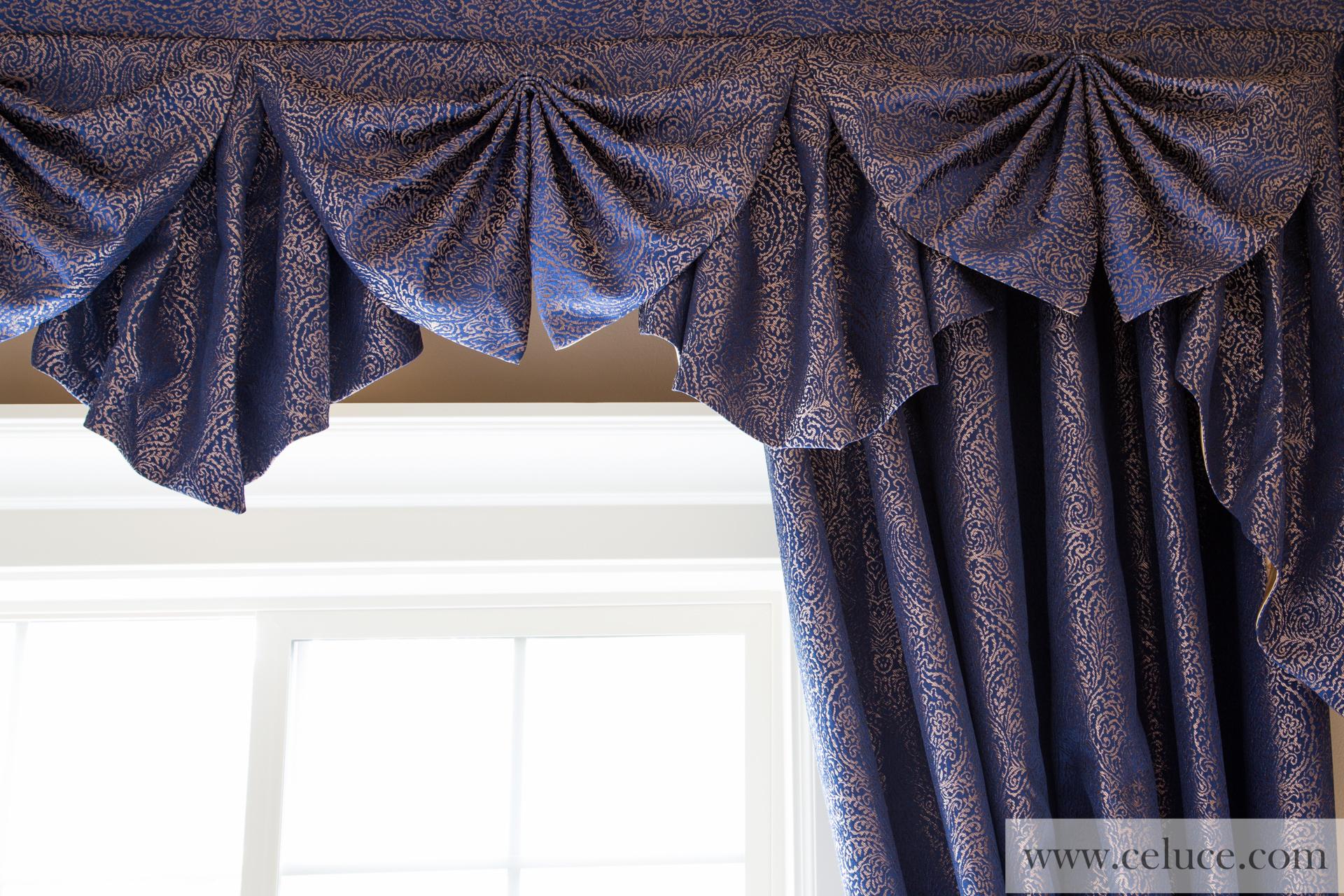Purple silk curtains - Picture Of Renaissance Arabesque Purple Paris Salon Cascade Style 100
