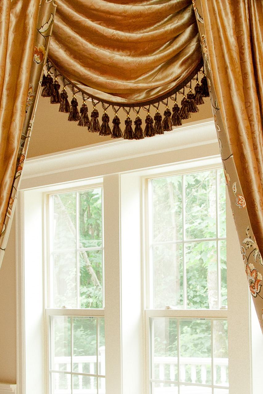 Fleurs Rococo Swag Valances Curtain Drapes Picture 6