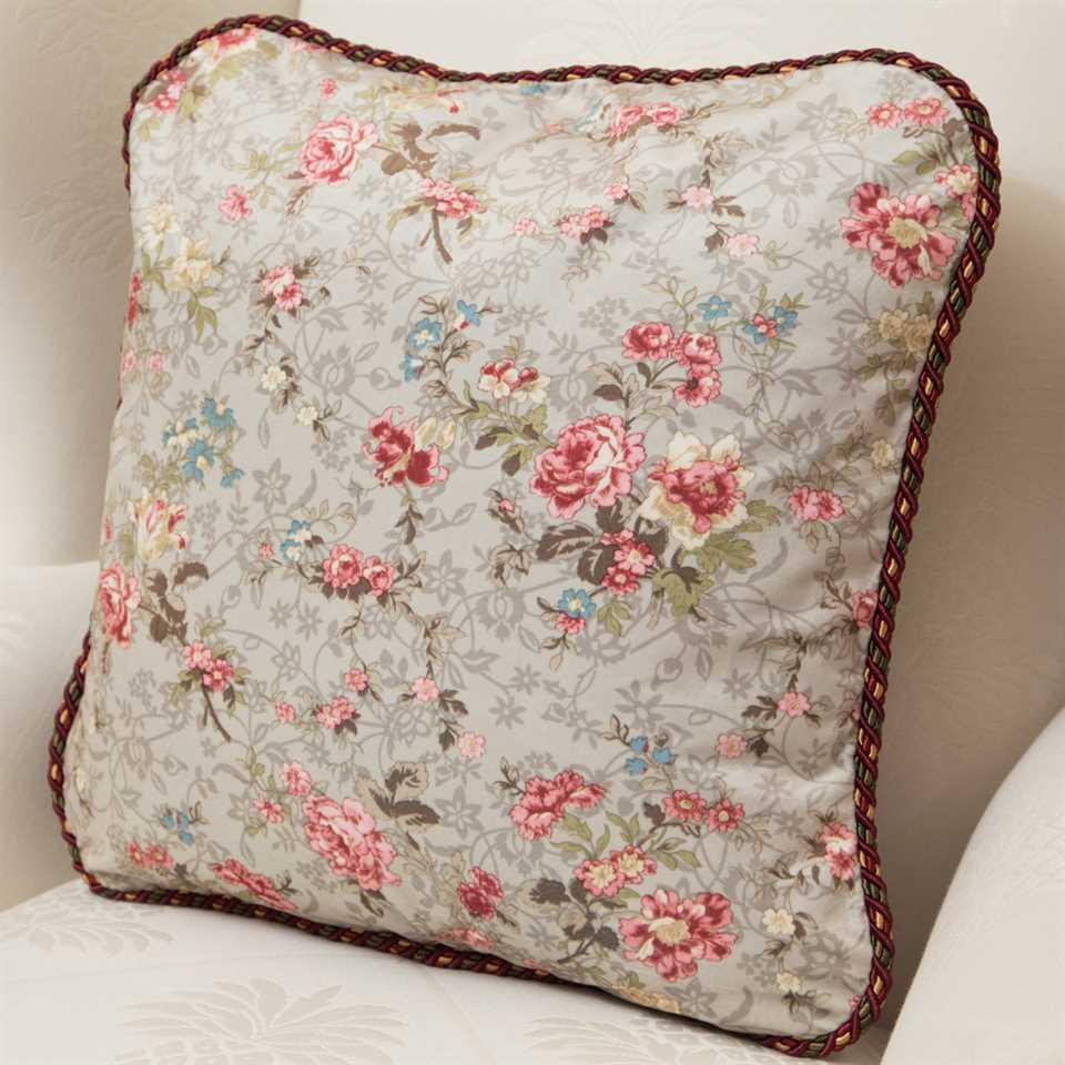 Picture of Pink Floral Pillow Case