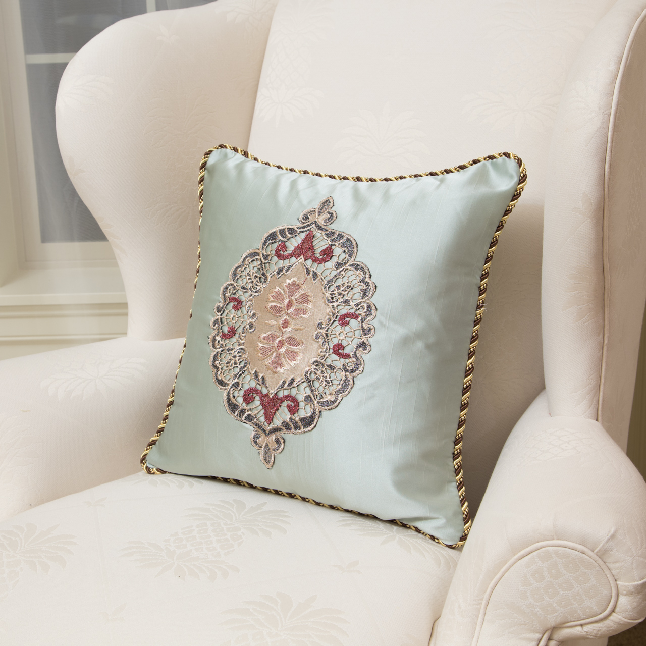 Embroidery Designs Pillow Cases