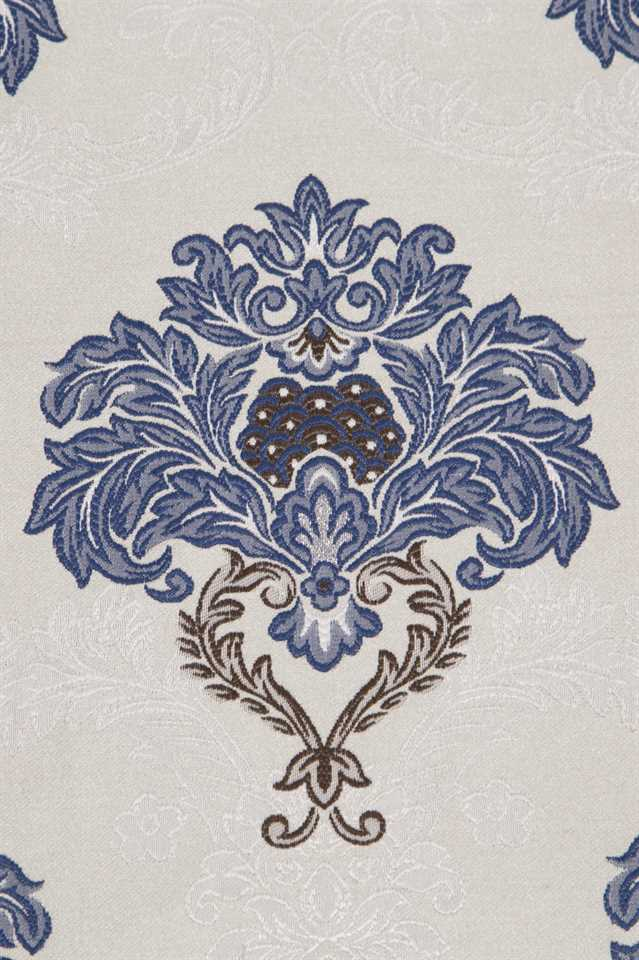 Picture of Blue and White Floral Patterns