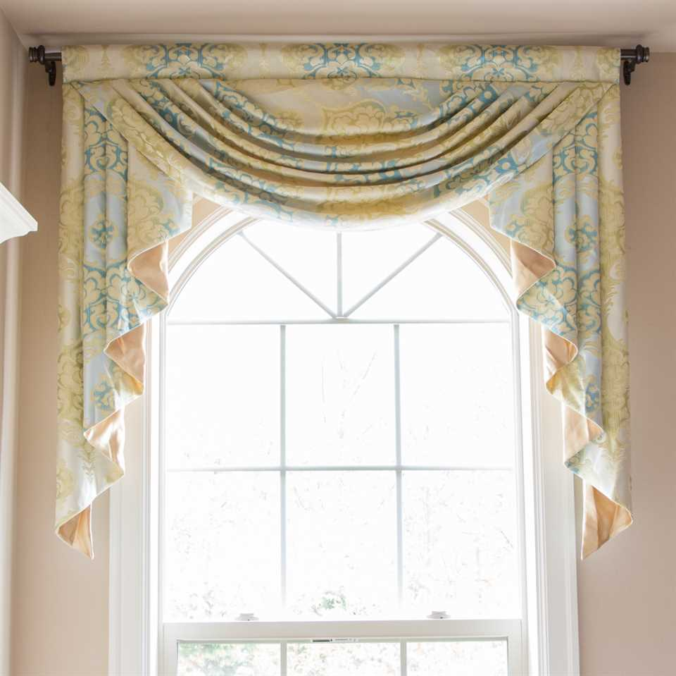 Picture of Lemon Drop Single Swag Valance