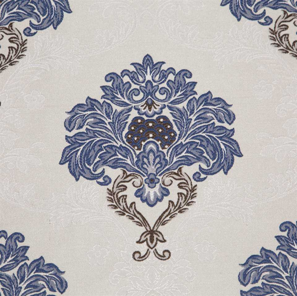 Picture of Blue and White Floral